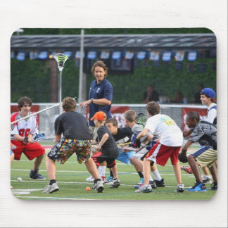 CAMBRIDGE, MA - JULY 08:  Major League Lacrosse Mouse Mat