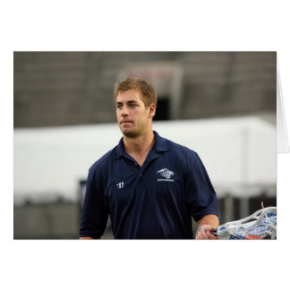 CAMBRIDGE, MA - JULY 08:  MLL All-Star Ben Hunt Card