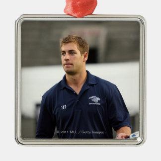 CAMBRIDGE, MA - JULY 08:  MLL All-Star Ben Hunt Christmas Ornament