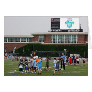 CAMBRIDGE, MA - JULY 8:  Atmosphere at the MLL Card