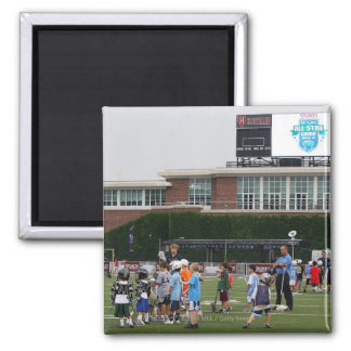 CAMBRIDGE, MA - JULY 8:  Atmosphere at the MLL Magnet