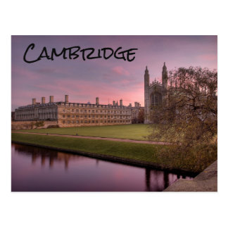 Cambridge, UK, Postcard