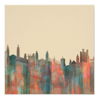 CAMBRIDGE, UK SKYLINE - CARD
