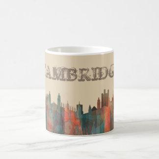 CAMBRIDGE, UK SKYLINE - COFFEE MUG