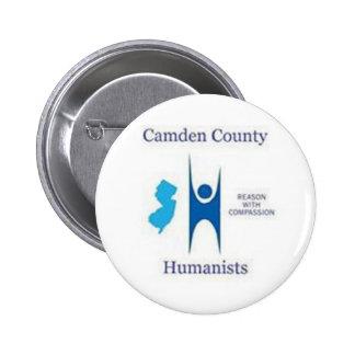Camden County Humanist Button