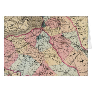 Camden, Gloucester counties, NJ Card