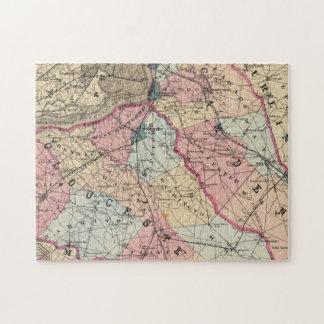 Camden, Gloucester counties, NJ Jigsaw Puzzle