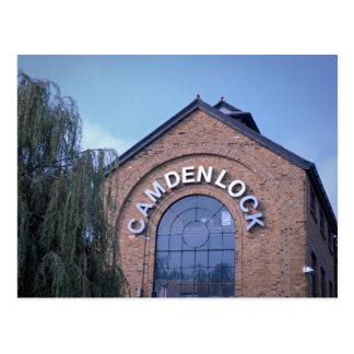 Camden Lock - Let's Go Shopping - London Postcard