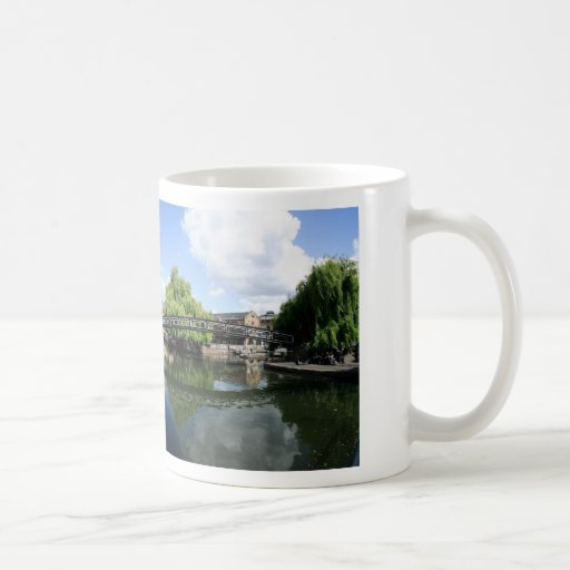 Camden Lock Panorama Basic White Mug