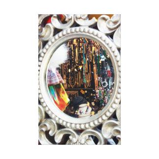 Camden Market Mirror Reflection Modern Design Stretched Canvas Prints