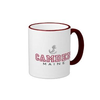 Camden, ME-Anchor Ringer Mug