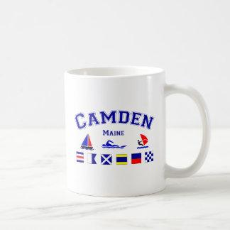 Camden, ME Basic White Mug