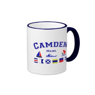 Camden, ME Ringer Mug