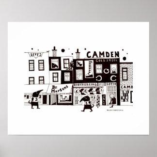 Camden Scene Poster
