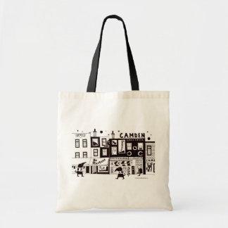 Camden Scene Budget Tote Bag