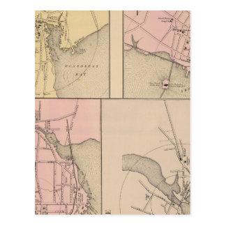 Camden, Wiscasset, Damariscotta, Newcastle Postcard