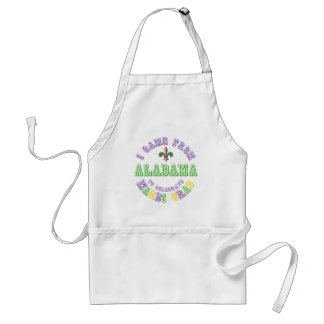 Came From Alabama Celebrate Mardi Gras Tees Gifts Standard Apron