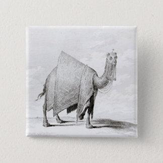 Camel 15 Cm Square Badge