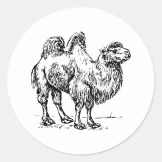 Camel 1 classic round sticker