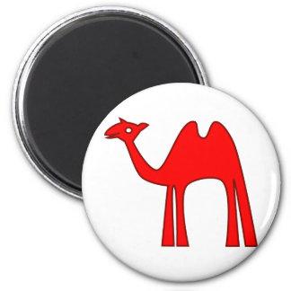 CAMEL 6 CM ROUND MAGNET