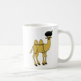 camel afro double Mug