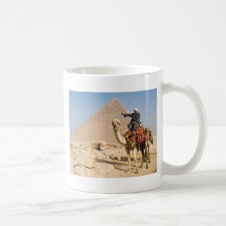 Camel Basic White Mug