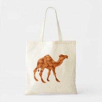 Camel camel tote bag