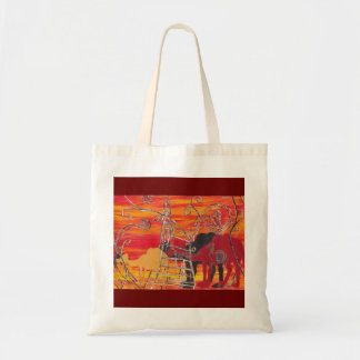 Camel Carnival Grocery Bag