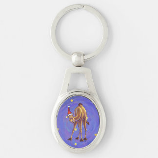 Camel Christmas Key Chain