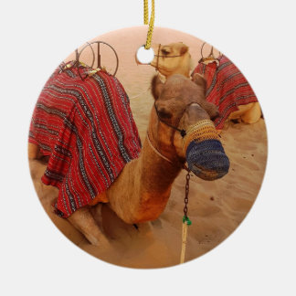 Camel Christmas Ornament