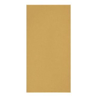 Camel Colour Personalised Photo Card