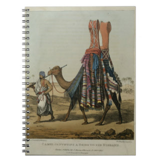 Camel Conveying a Bride to her Husband, engraved b Notebook