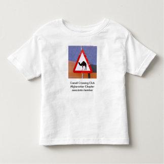 Camel Crossing Club Afghanistan Toddler Toddler T-Shirt