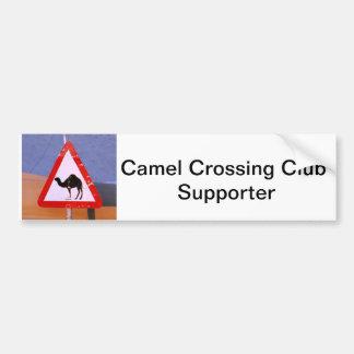 Camel Crossing Club Supporter Bumper Sticker