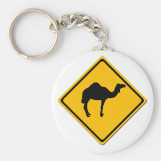 Camel Crossing Keychain