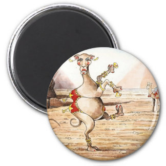 Camel Dance 6 Cm Round Magnet