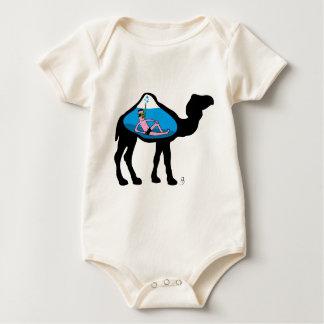 Camel Diver Baby Bodysuit