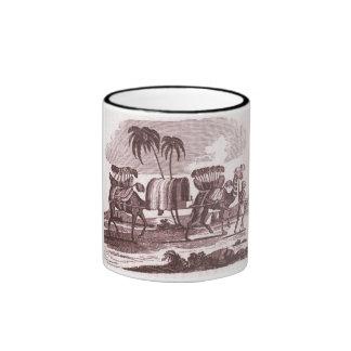Camel Driver Vintage Print Mug
