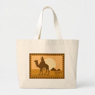 Camel Egypt Large Tote Bag