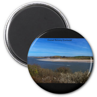 Camel Estuary Cornwall Fridge Magnet