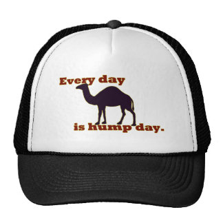 "Camel ""Every Day is Hump Day"" Mesh Hats"