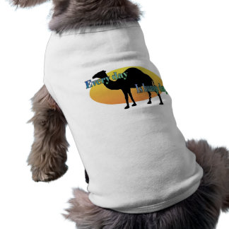 Camel - Every Day is Hump Day Sleeveless Dog Shirt