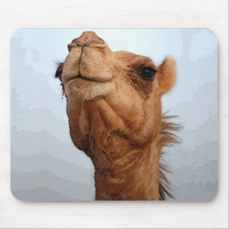 Camel Face Mousepad
