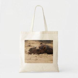 Camel Head Budget Tote Bag