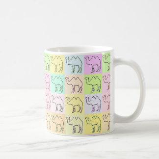 Camel Hieroglyphics Pop Art Mug