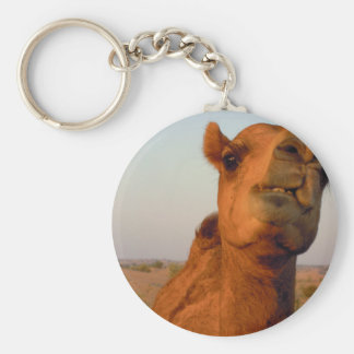 Camel in desert 2 key ring
