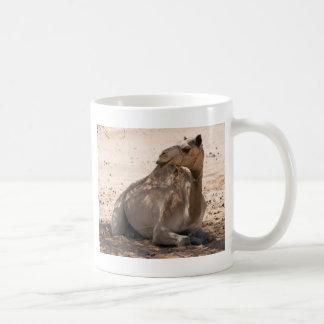 Camel in the Shade Basic White Mug