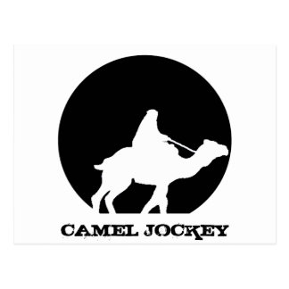 Camel Jockey Postcard