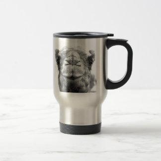 Camel Kisses Fun Closeup Photo Stainless Steel Travel Mug