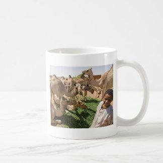 Camel Market Basic White Mug